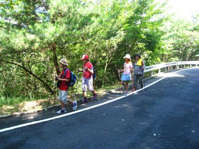 平成26年9月7日(日)広島市森林公園にて「ノルディック・ウォーク教室」