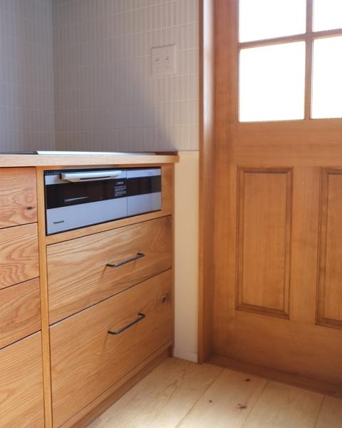 無垢材キッチン