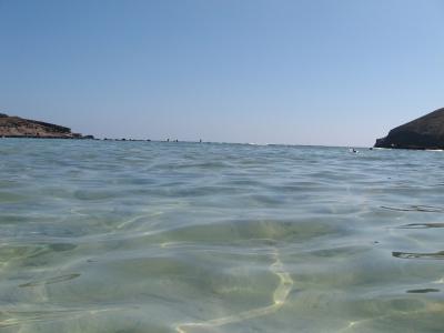 海 水 波面