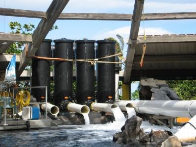 水槽施設装備