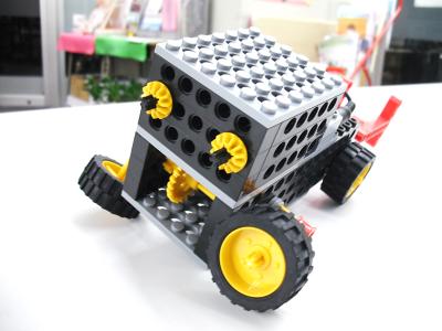 完成した体験ロボット