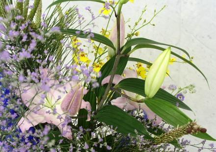 生花の彩り