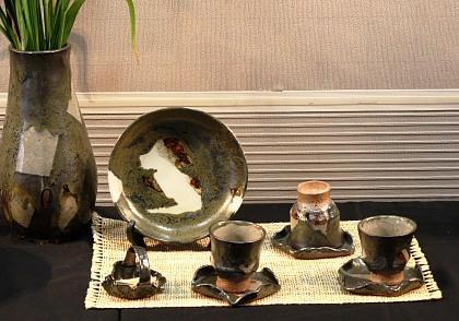 陶芸品の数々