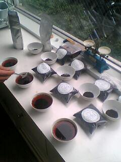 スリランカ茶のテイスティング 浜佐園