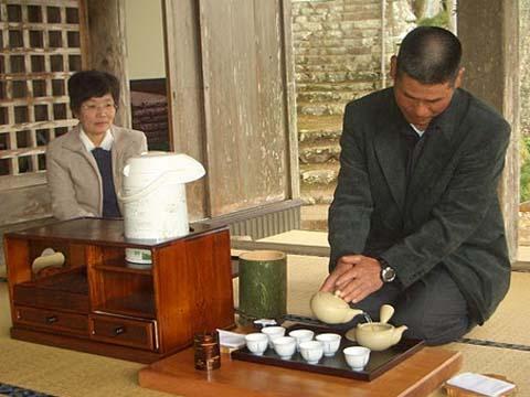 力さん煎茶道