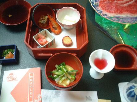 銀山荘〜夕食
