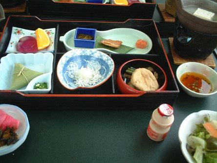 銀山荘〜朝食