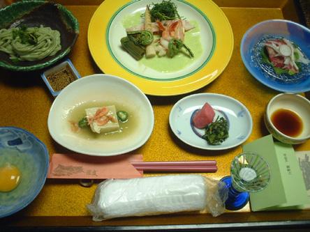 滝波 夕食