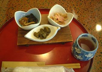 滝波 朝食