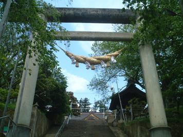 赤湯 烏帽子神社