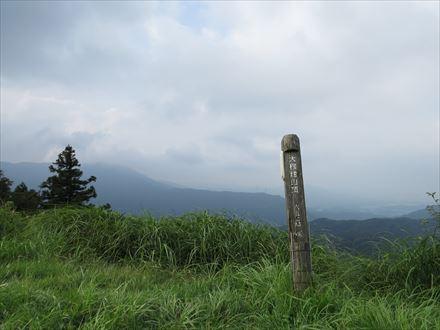 大根地山の山頂からの景色