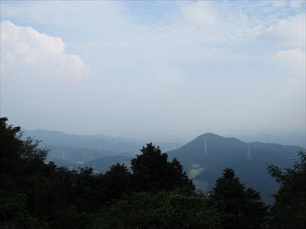 筑紫野方面の景色