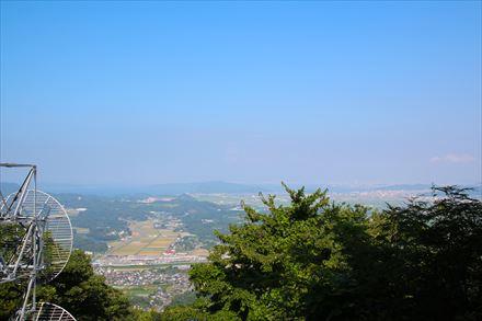 第1展望所からの景色