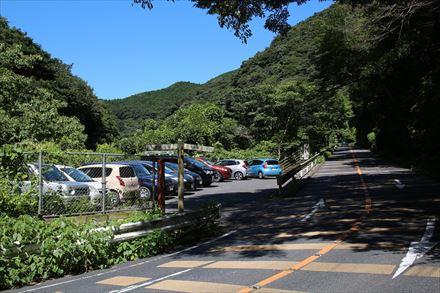 千本桜展望駐車場