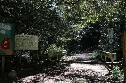 尺岳けやき谷登山口