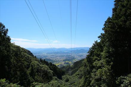 山行途中からの景色