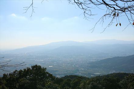 砥上岳山頂からの景色(市内)