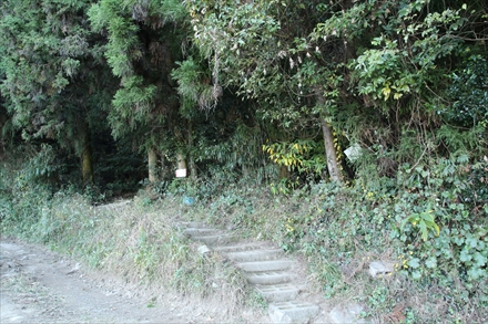 基山登山口