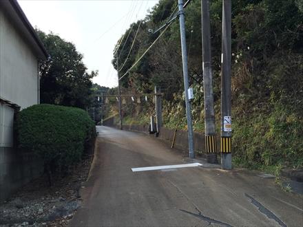 井野山入口