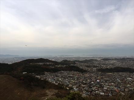 福岡市方面の景色