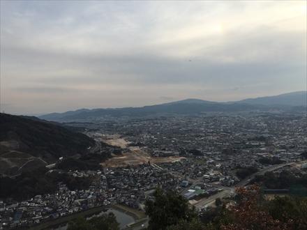 大野城方面の景色