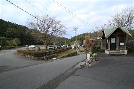 昭和の森キャンプ場駐車場