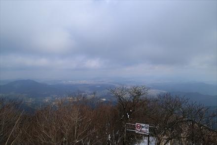 三郡山山頂からの景色