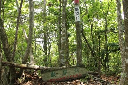 浅間山の展望台