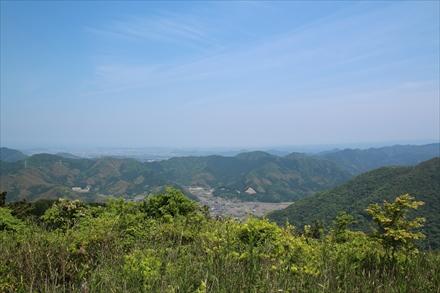 牛斬山山頂からの景色