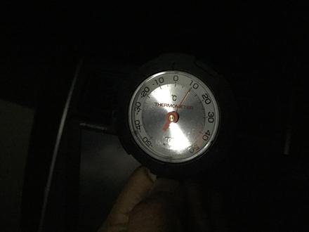 牧ノ戸の気温