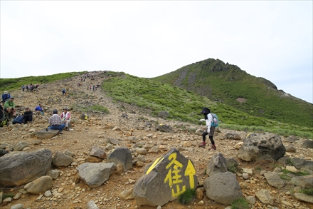 久住山への道