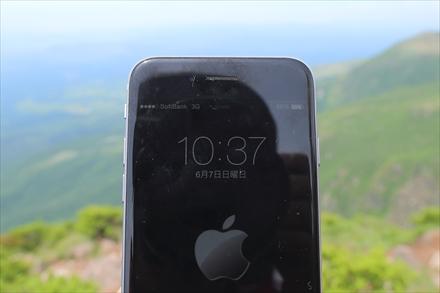 ソフトバンクの携帯電波(久住山)