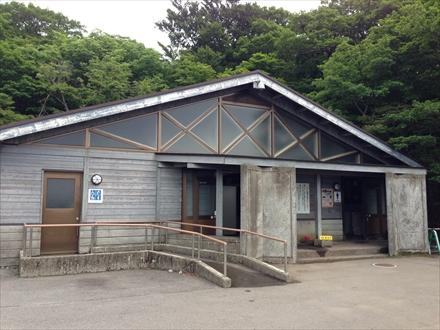 牧ノ戸峠のトイレ