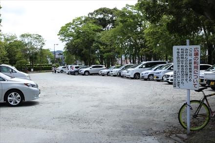 太宰府政庁跡駐車場
