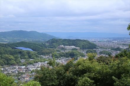 水瓶山山頂からの景色