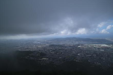 皿倉山山頂からの景色