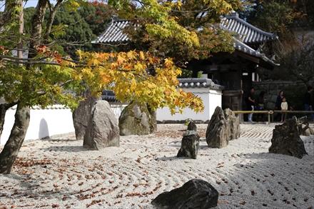 光明禅寺の正面庭園