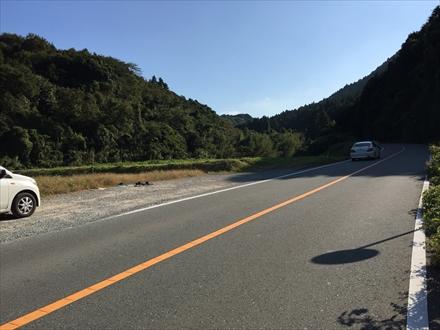 磯辺山登山口駐車スペース