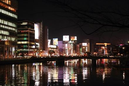 中洲の夜景