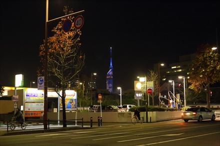 遠くに見える福岡タワー