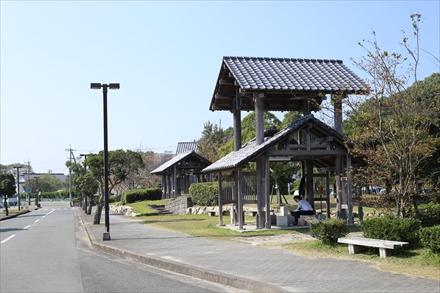 能古島渡船場前