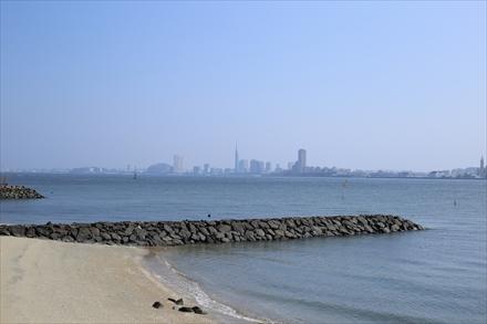 能古島からの百道浜