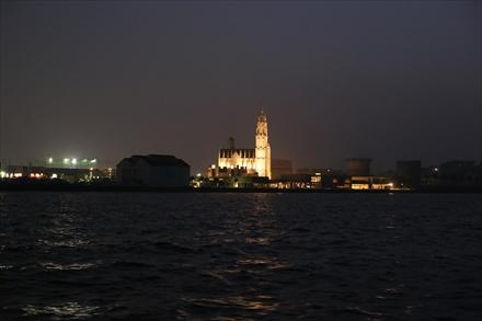 船上からの夜景