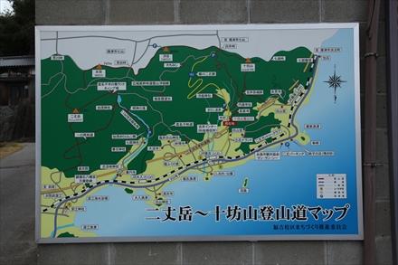 十坊山周辺マップ