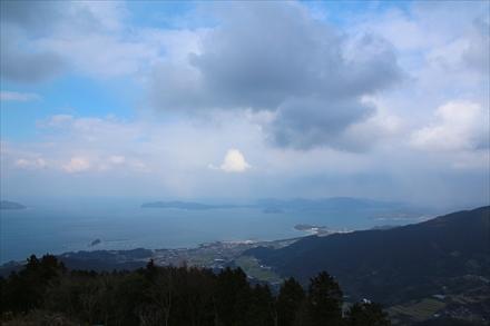 十坊山山頂からの景色(志摩方面)
