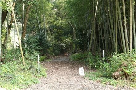 筑紫野宮地岳登山口