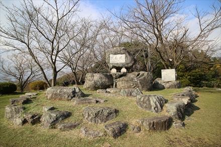清水公園記念碑