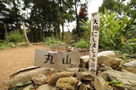 清水山(前)山頂三角点