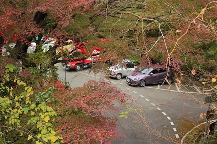 清水寺付近の紅葉
