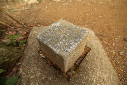 丸山(みやま)・一等三角点